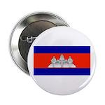 Cambodia Blank Flag Button