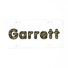 Garrett Army Aluminum License Plate