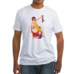 Santa's Hot Tomato Fitted T-Shirt