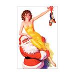 Santa's Hot Tomato Mini Poster Print
