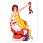 Santa's Hot Tomato Small Poster