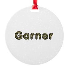 Garner Army Round Ornament