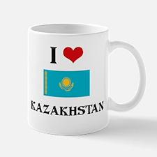 I HEART KAZAKHSTAN FLAG Mug