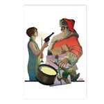 Santa Got Held Up By a Flappe Postcards (Package o
