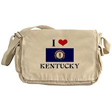 I HEART KENTUCKY FLAG Messenger Bag