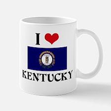 I HEART KENTUCKY FLAG Mug