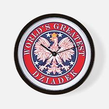 World's Greatest Dziadek Wall Clock