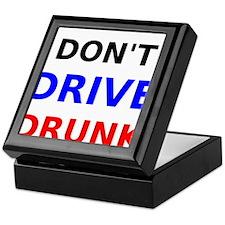 Dont Drive Drunk Keepsake Box