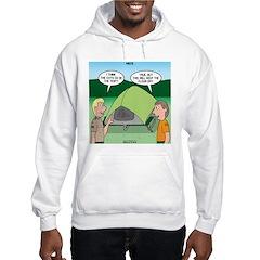 Tent Setup Hooded Sweatshirt