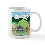 Tent Setup Mug