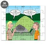 Tent Setup Puzzle