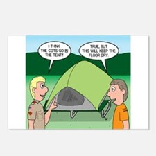 Tent Setup Postcards (Package of 8)