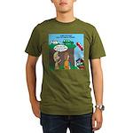 Remote Parking Organic Men's T-Shirt (dark)