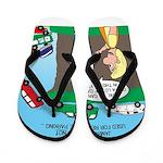 Remote Parking Flip Flops