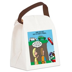 Remote Parking Canvas Lunch Bag