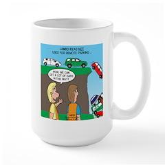 Remote Parking Large Mug