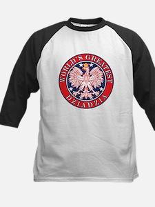 World's Greatest Dziadzia Kids Baseball Jersey