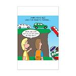 Remote Parking Mini Poster Print