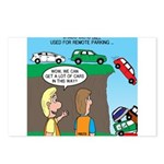 Remote Parking Postcards (Package of 8)