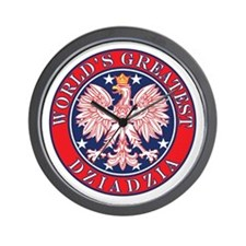 World's Greatest Dziadzia Wall Clock