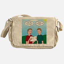 Leave No Trace Map Messenger Bag