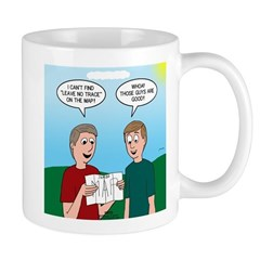 Leave No Trace Map Mug