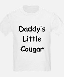 Daddy's Little Cougar Kids T-Shirt