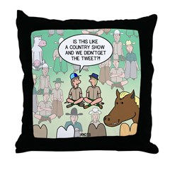 Country Arena Show Throw Pillow