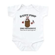 Happy Poop for Pres Infant Bodysuit