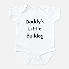 Daddy's Little Bulldog Infant Bodysuit