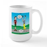 Avoid Blisters Large Mug