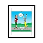 Avoid Blisters Framed Panel Print