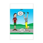 Avoid Blisters Mini Poster Print