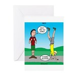 Avoid Blisters Greeting Cards (Pk of 10)