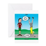 Avoid Blisters Greeting Card