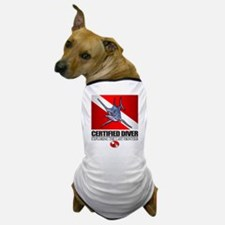 Certified Diver (Marlin) Dog T-Shirt