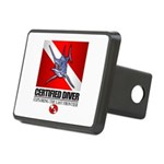 Certified Diver (Marlin) Hitch Cover