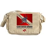 Certified Diver (Marlin) Messenger Bag
