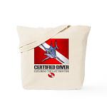Certified Diver (Marlin) Tote Bag