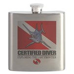 Certified Diver (Marlin) Flask