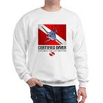 Certified Diver (Marlin) Sweatshirt