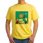 Shark Cage Yellow T-Shirt