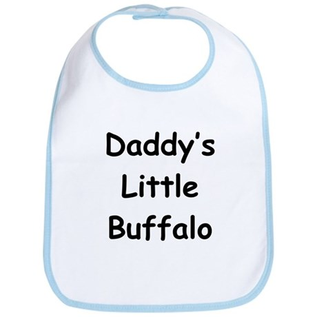 Daddy's Little Buffalo Bib