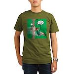 Canopy Tour Zip Line Organic Men's T-Shirt (dark)