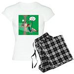 Canopy Tour Zip Line Women's Light Pajamas