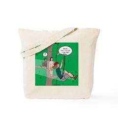 Canopy Tour Zip Line Tote Bag