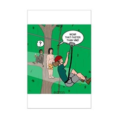 Canopy Tour Zip Line Posters