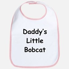 Daddy's Little Bobcat Bib