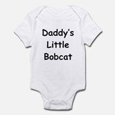 Daddy's Little Bobcat Infant Bodysuit