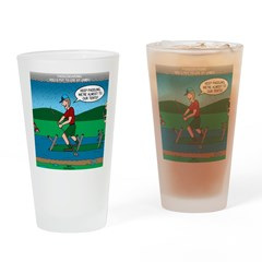 Cot Paddleboarding Drinking Glass